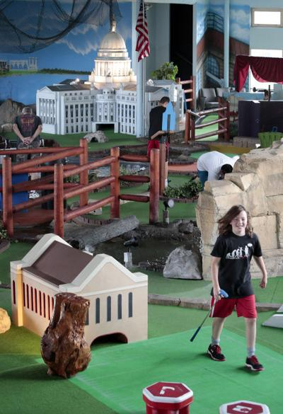 Madison In 100 Objects Indoor Mini Golf Course At Vitense Madison