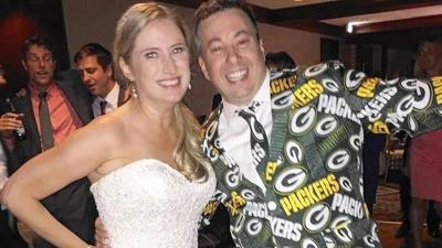 Packers superfan takes wife's last name of Packer