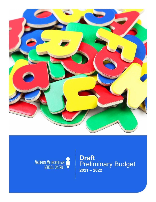 MMSD 2021-22 preliminary budget draft