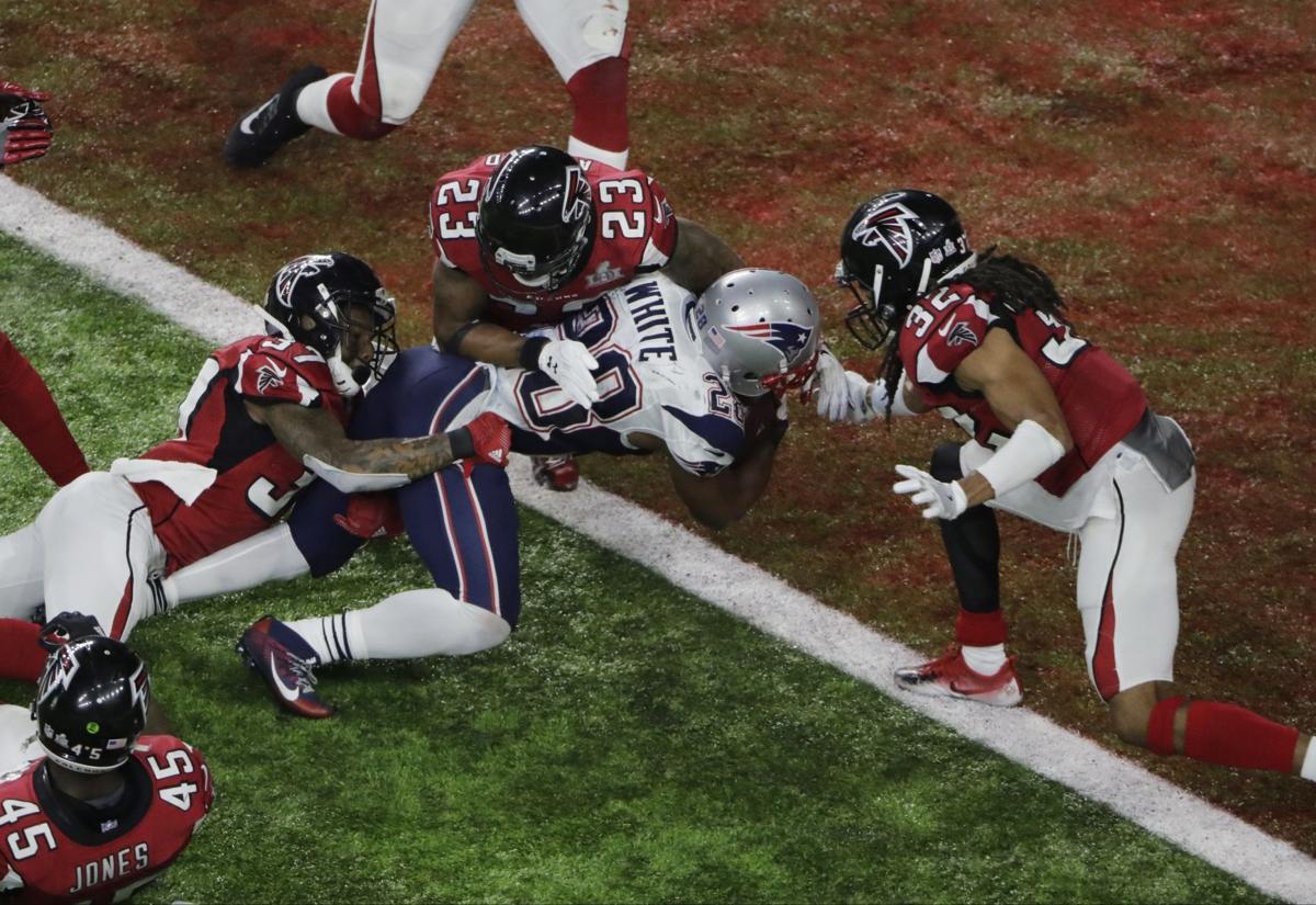 APTOPIX Patriots Falcons Super Bowl Football