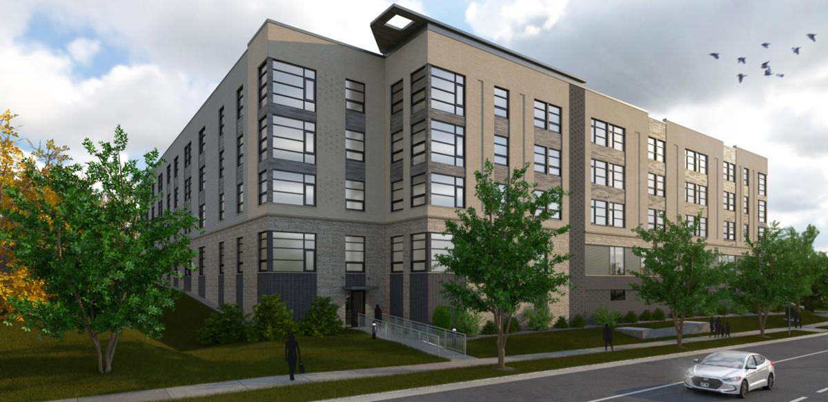 Oakwood Village new housing rendering