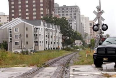 Monona Terrace Rail Tracks