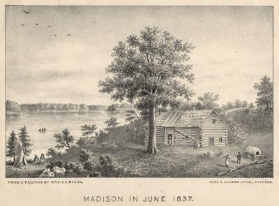 Madison in 1837