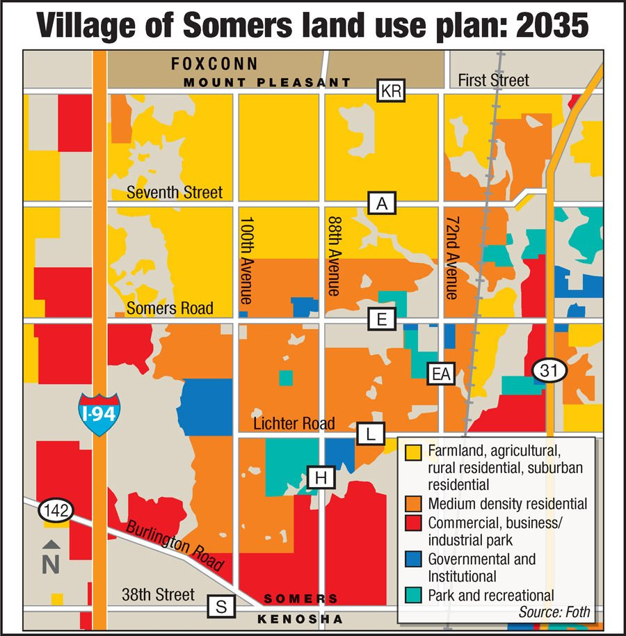 Somers, Kenosha County preparing for Foxconn impacts | Politics and on eagle river wi map, sheldon wi map, green wi map, naperville wi map, crystal lake wi map, outagamie wi map, fond du lac county wi map, fairfield wi map, kenosha wisconsin, kenosha hotels, howards grove wi map, dayton wi map, vilas wi map, copper harbor wi map, plover wi map, pensaukee wi map, trenton wi map, wauwatosa wi map, menominee county wi map, battle creek wi map,