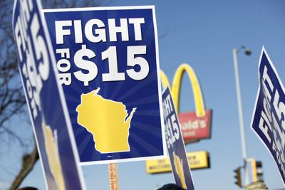 Fight for $15 in Madison (copy)