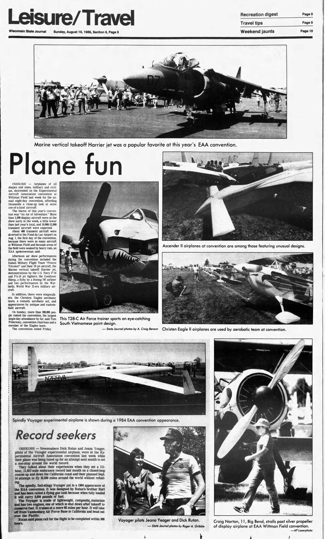 From the Archives: EAA AirVenture through the years | Local News