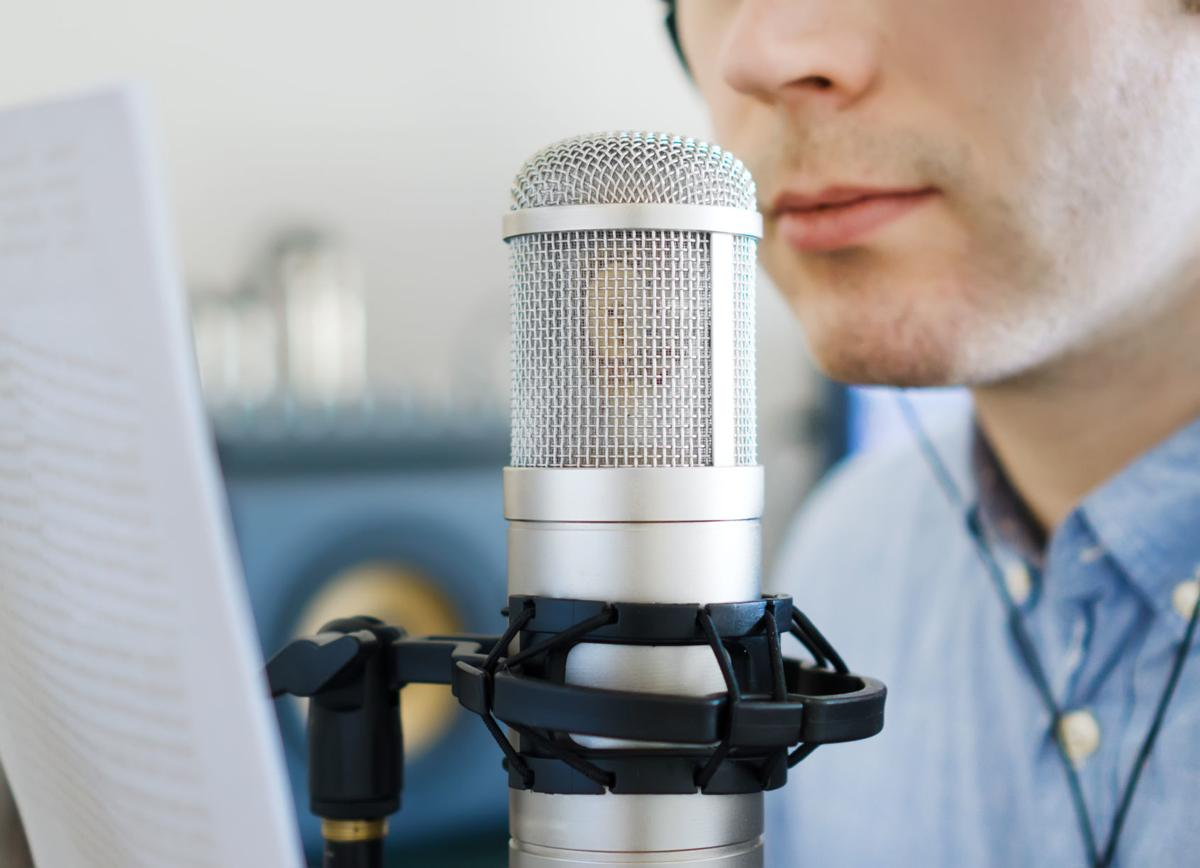 Radio stock image
