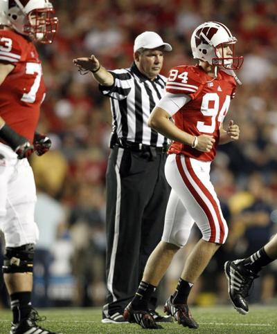 Kyle French, UW football vs. Utah State