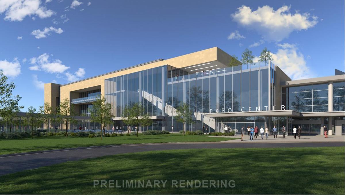 Expo Hall design rendering