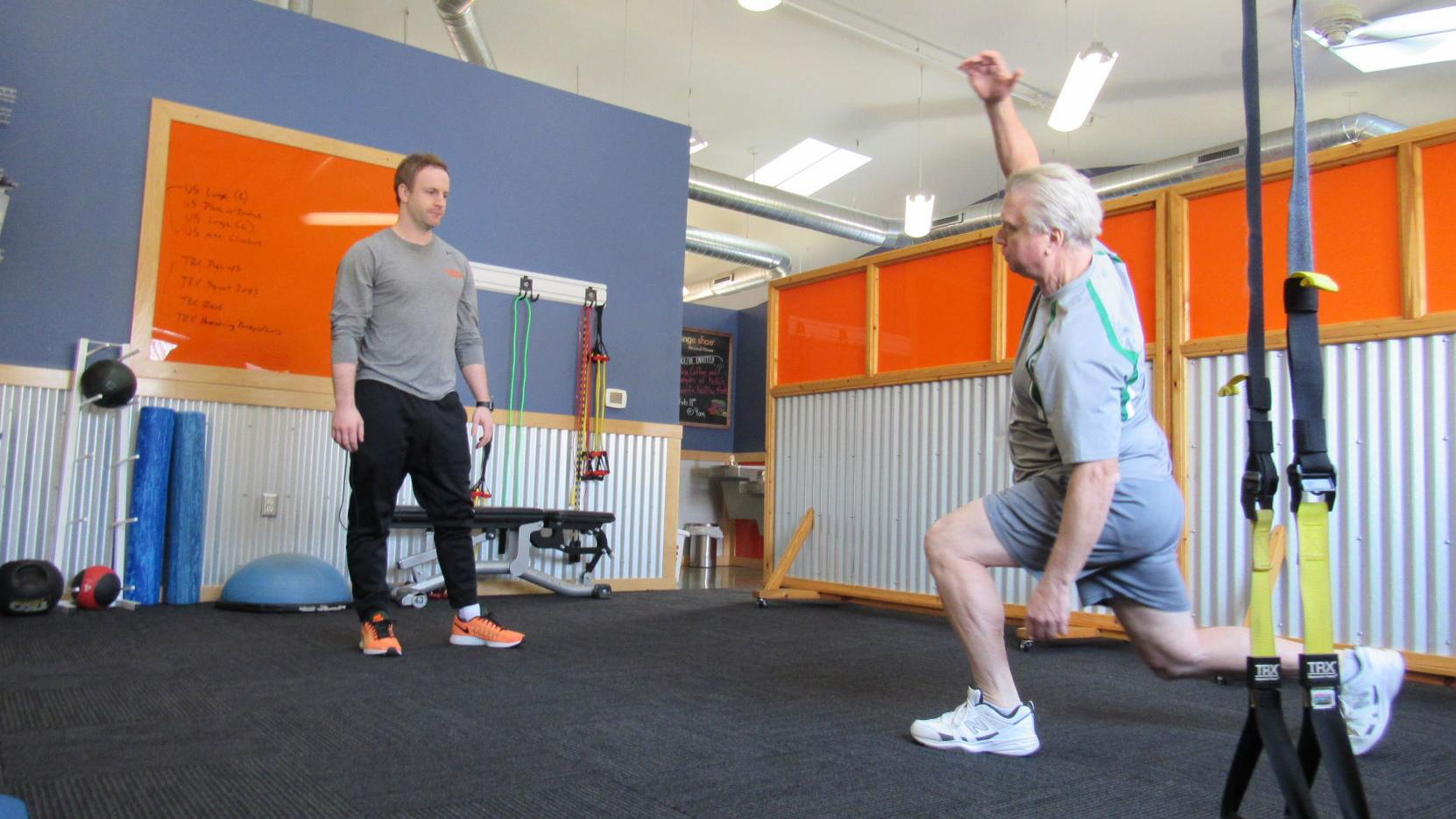 Orange Shoe Personal Fitness On A Path For Growth Business News Madison Com