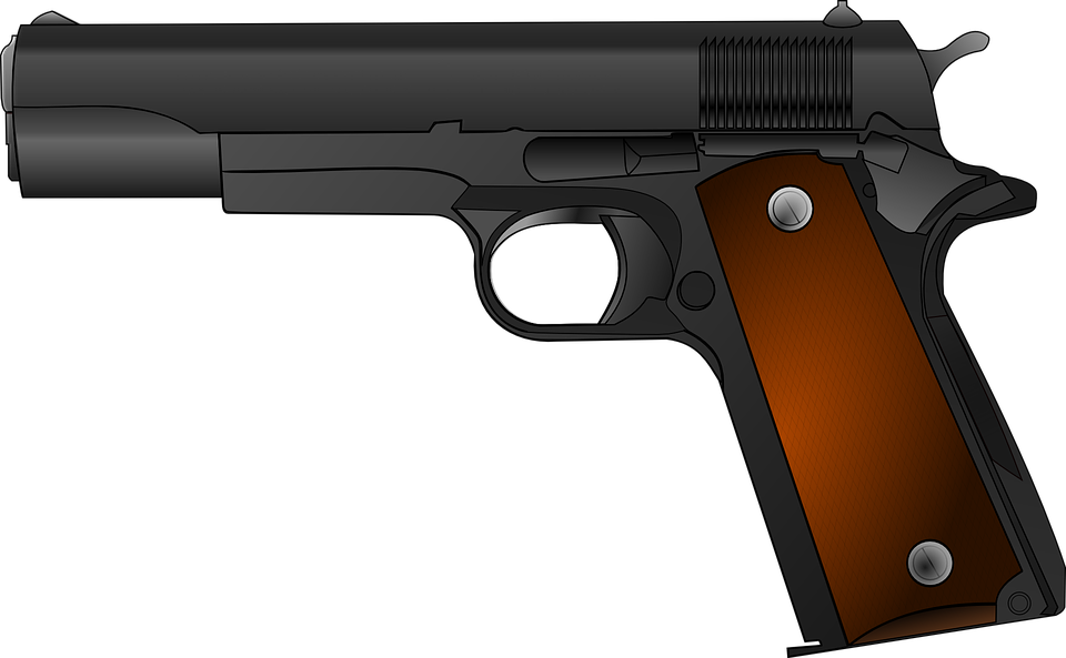Handgun, generic file photo