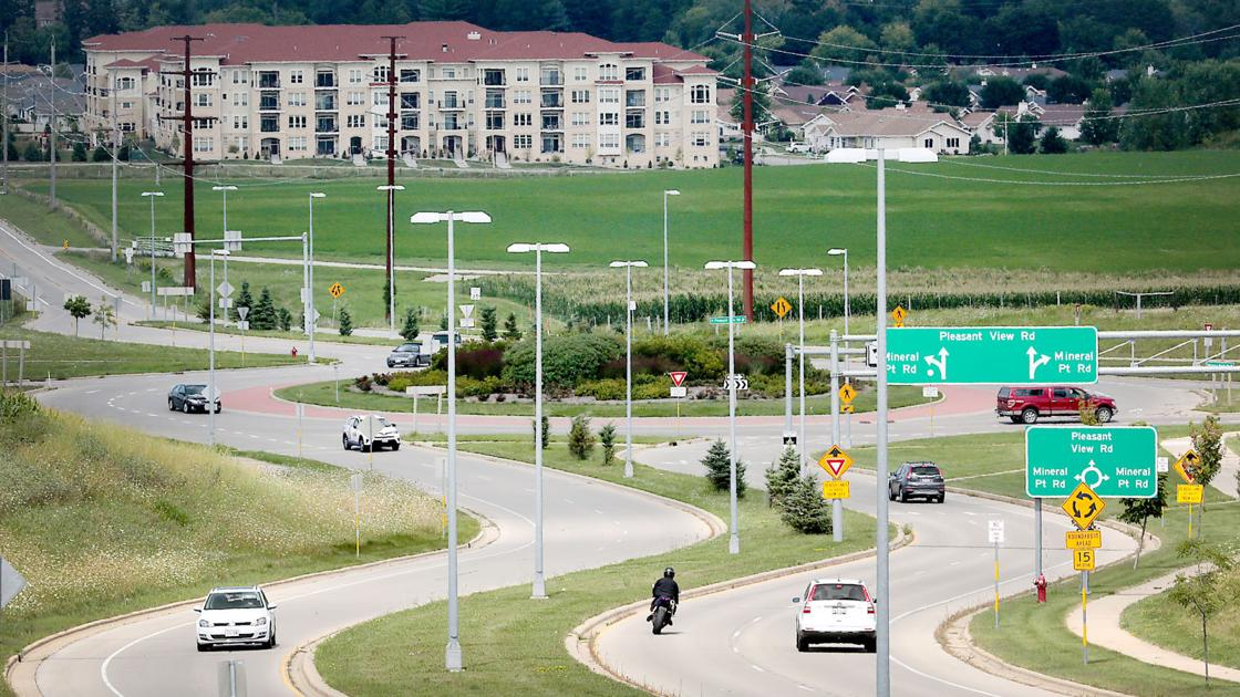 Roundabout on Madison's Far West Side has become a crash magnet