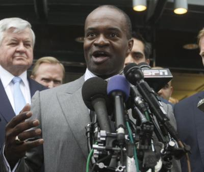 DeMaurice Smith in 2015, AP generic file photo