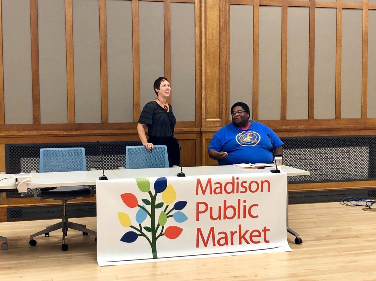 Public market community meeting