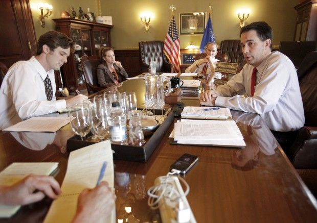 Gov. Walker discusses the 2013-15 state budget