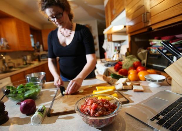 Laura Gilliam prepares Rosalie's Padella