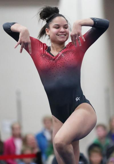 All-area gymnastics photo: Mount Horeb's Drea O'Connell