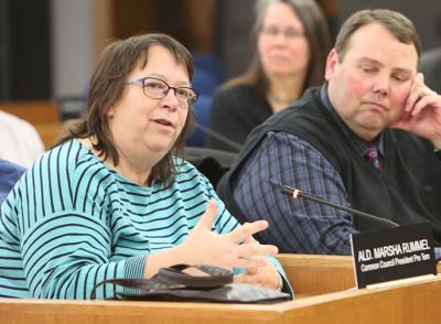 Marsha Rummel at City Council
