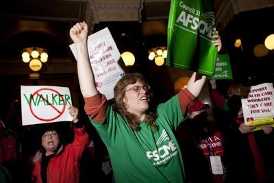 2011 protests against Scott Walker, Estelle Sweet