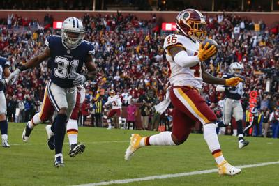 Kapri Bibbs with Redskins, AP photo