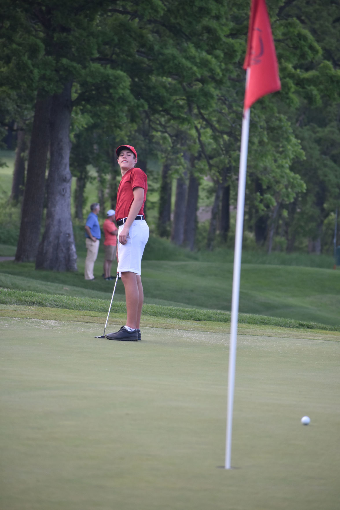WIAA boys golf photo: Middleton's Tommy Kriewaldt