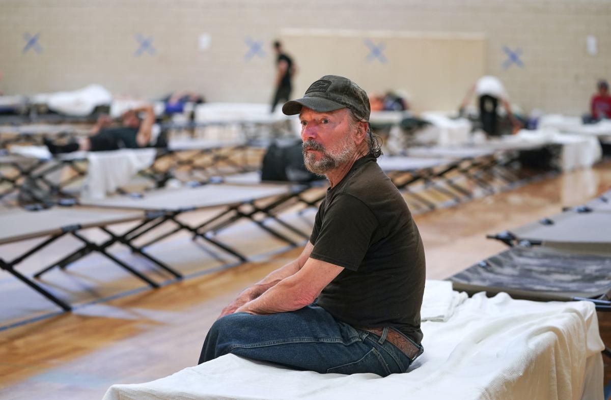 Warner Park homeless men's shelter