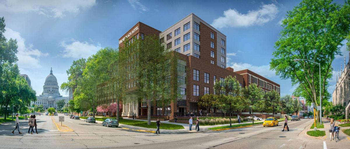 Drury hotel, Downtown MATC site, submitted rendering