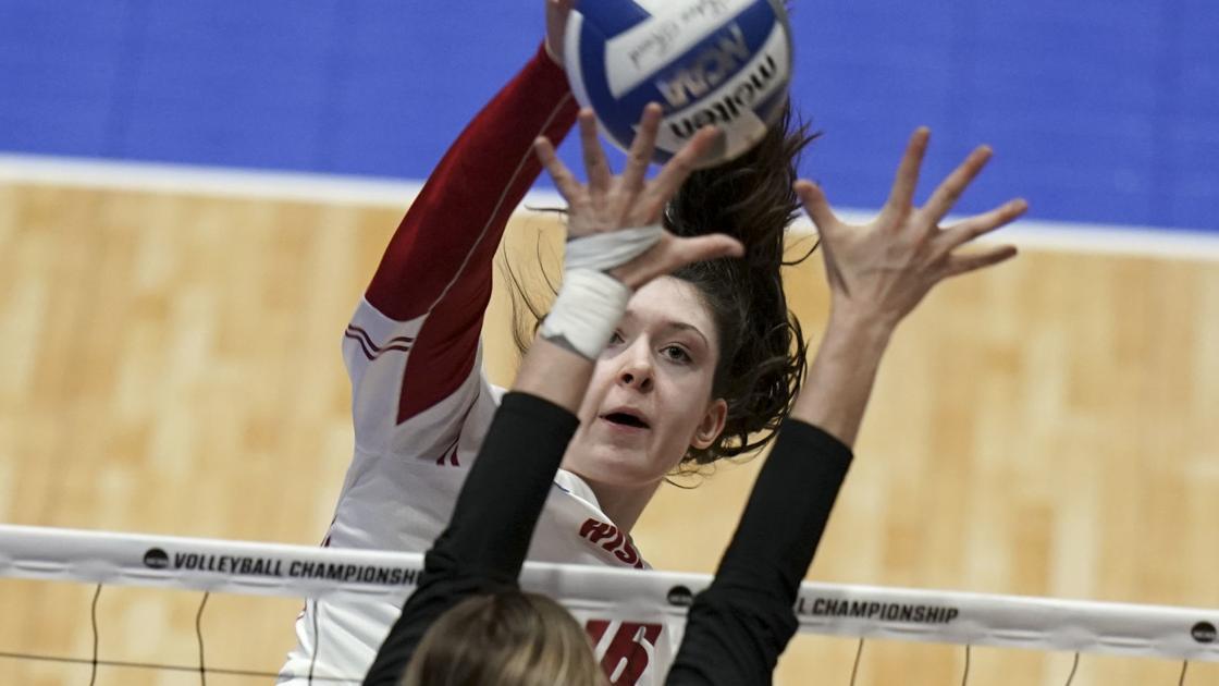 Photos: Wisconsin Badgers volleyball team defeats Texas A&M in NCAA Regional