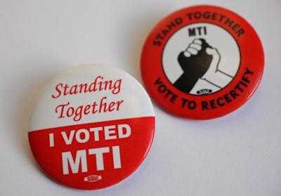 MTI buttons