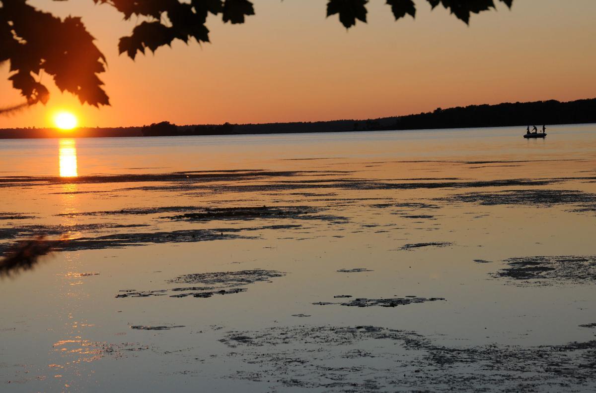Wisconsin lake sunrise
