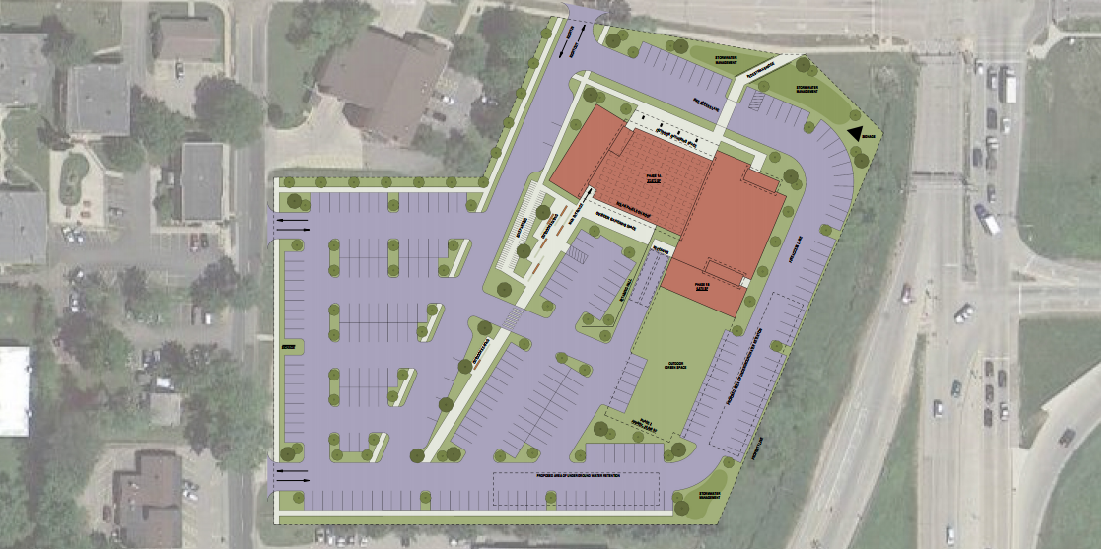 Matc Campus Map.Matc Aims To Connect South Side Campus With Surrounding Neighborhood