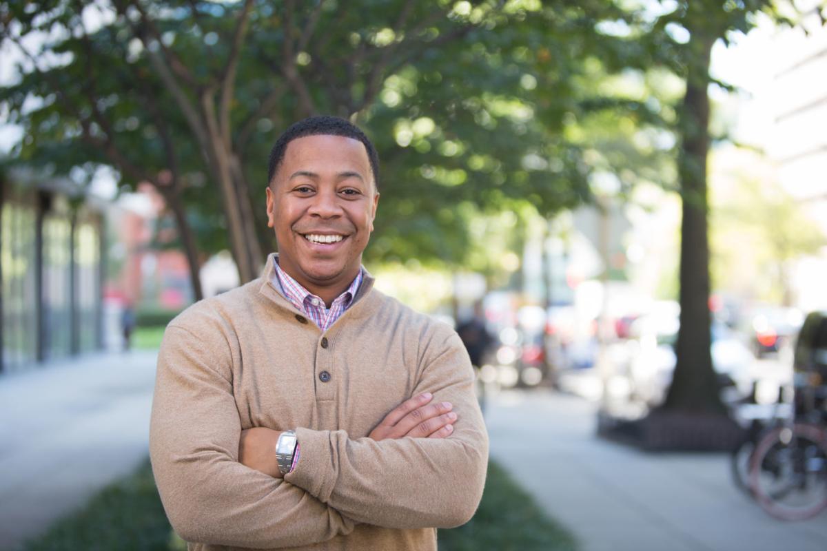 Mahlon Mitchell Democratic gubernatorial candidate