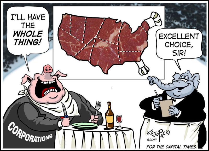 Editorial cartoon 5/21/14