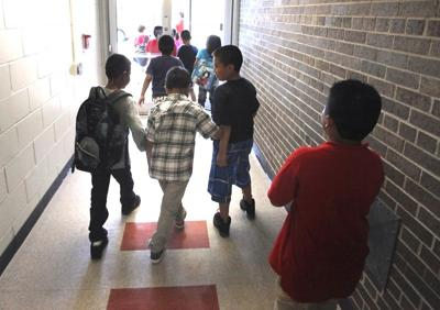 Lincoln Elementary students