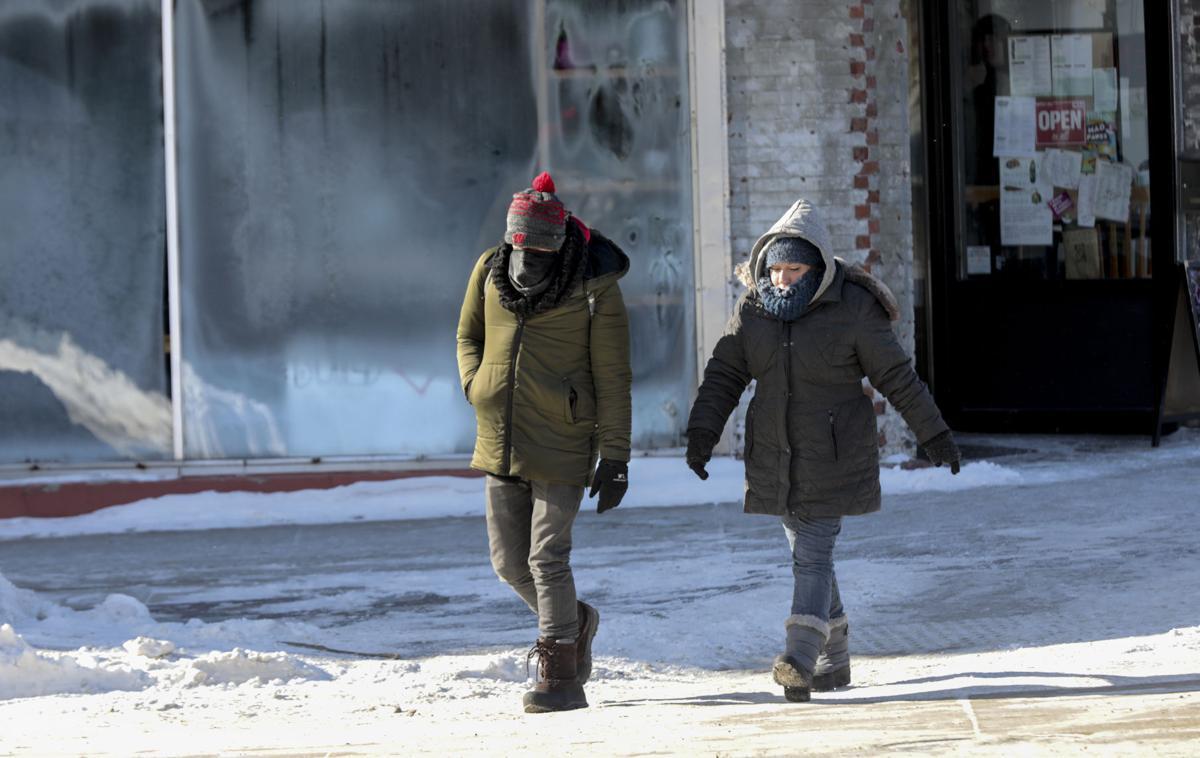 Brutal cold weather