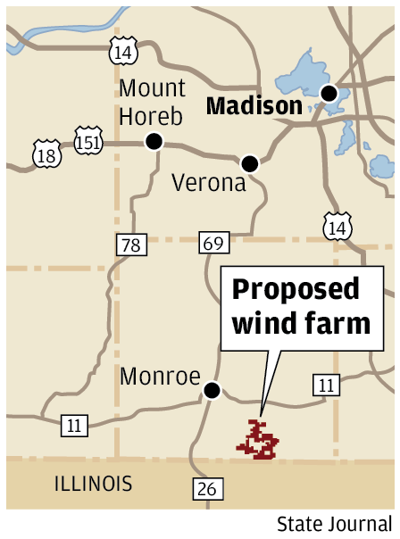 Proposed wind farm