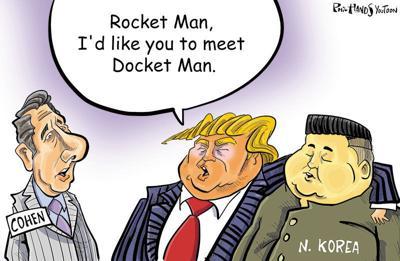Docket Man Cartoon