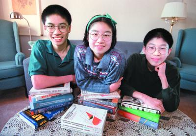 Po-Shen Loh and his siblings