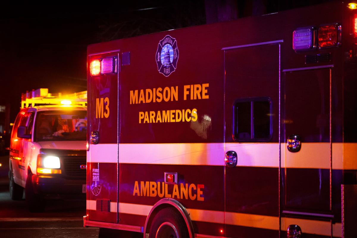 City of Madison ambulance, fire department