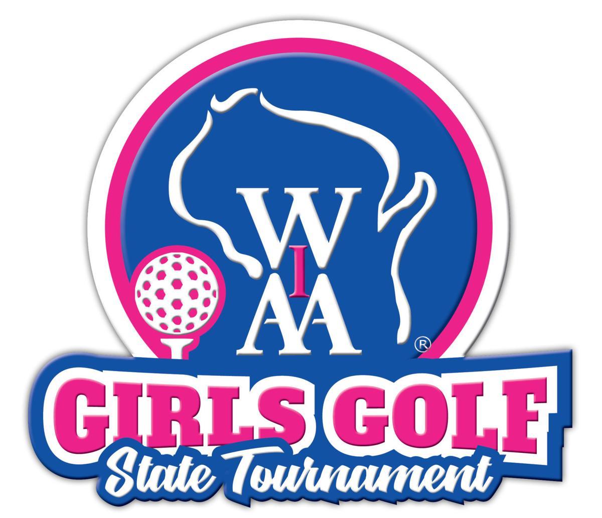 WIAA state girls golf logo