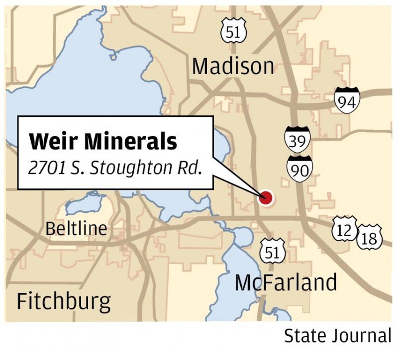 Weir Minerals Map