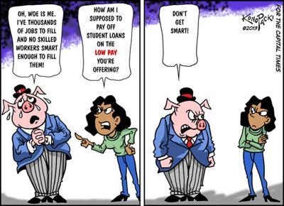Editorial cartoon (2/13/13)