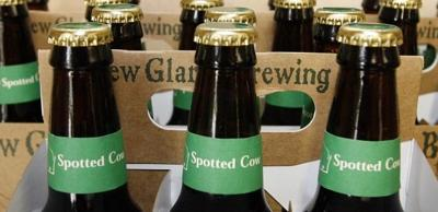 New Glarus Brewing Spotted Cow six packs