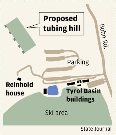 Tyrol Basin tubing hill