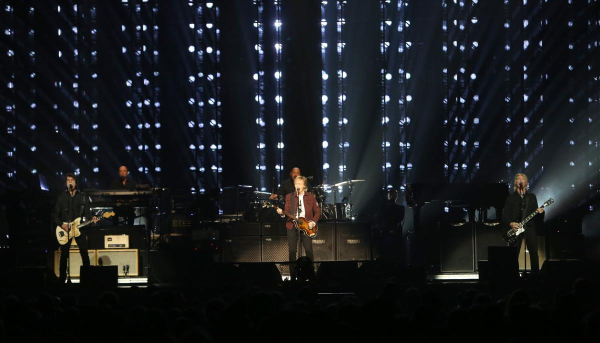 PAUL ON THE RUN: CONCERT REVIEW : Paul McCartney rocks