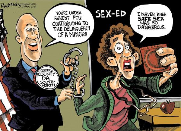 Sex ed cartoon
