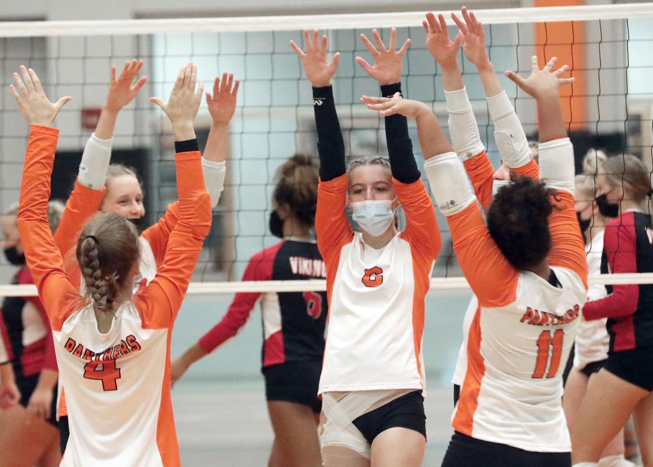 Photos: John Marshall, Lewiston-Altura girls volleyball