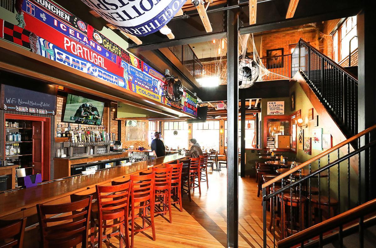 Nomad World Pub interior