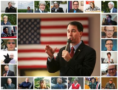 Some of the candidates seeking to take on Scott Walker