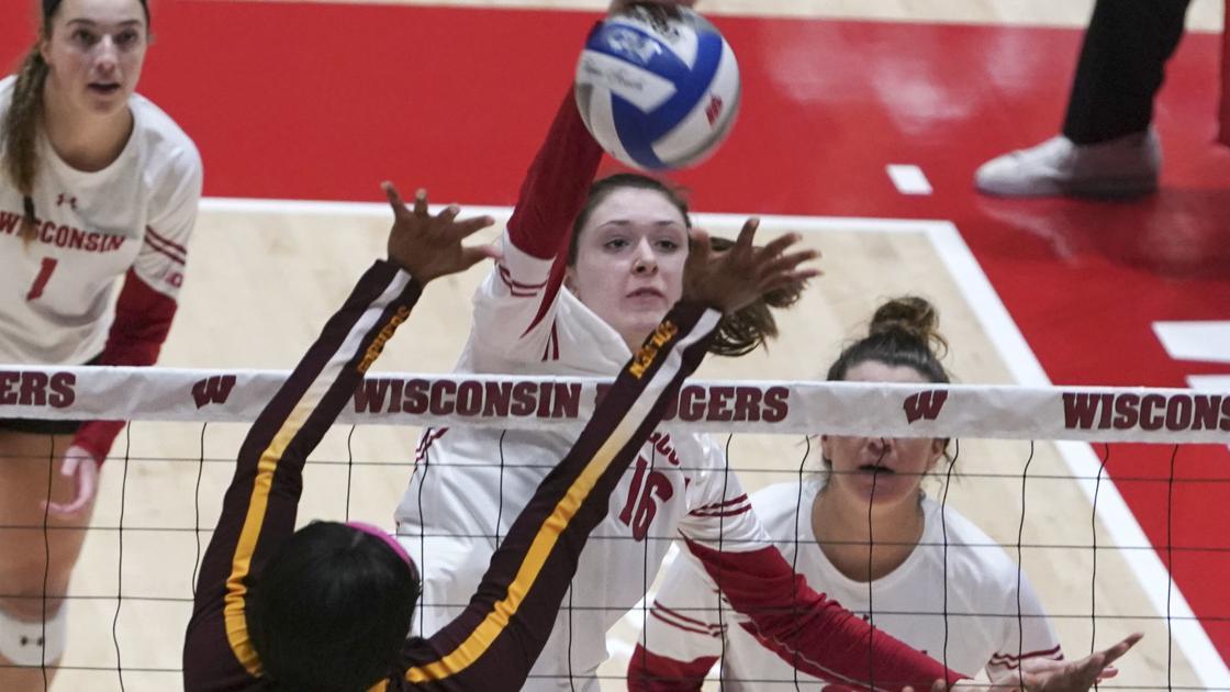 Photos: Volleyball Wisconsin beat Minnesota 3-0